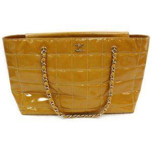 Auth Chanel Shoulder Bag Light Brown #3373C51